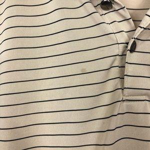 Yves Saint Laurent Shirts - Yves Saint Laurent 100% silk polo Sz XL